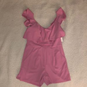Lord and Taylor Design Lab Ruffle Romper